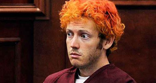 James Holmes, who murdered 12 people inside a cinema in Aurora, Colorado, in 2012.