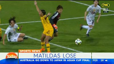 Matildas lose Asian Cup final to Japan