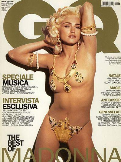 <p>Madonna, 2001</p>