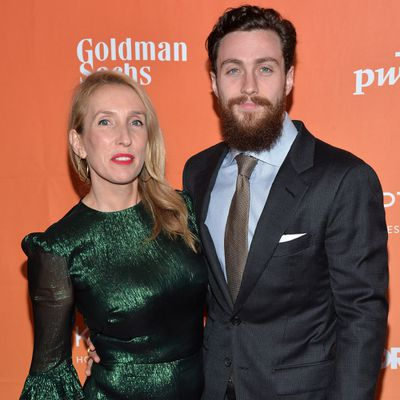 <strong>Sam Taylor-Johnson, 51, and Aaron Taylor-Johnson, 28</strong>