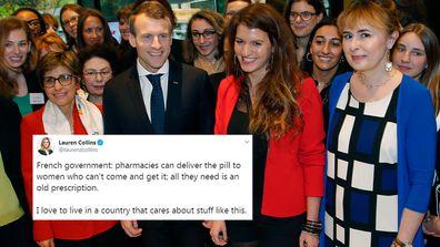 France provides home delivered contraceptive pill amid coronavirus.