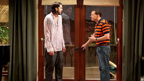 Two and a Half Men has a new leading man, but the same crude gags