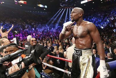 1. Floyd Mayweather (boxing) $386 million ($367m in earnings, $19m in endorsements)
