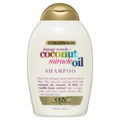 "<a href=""https://www.chemistwarehouse.com.au/buy/83088/ogx-extra-strength-coconut-miracle-oil-shampoo-385ml?gclid=CjwKCAjw-dXaBRAEEiwAbwCi5oaKoMSi_IYvbSlcbzsJ9mf5D3cRiRvxbwhcC7Dj53aecILFQY1_-BoC5LoQAvD_BwE"" target=""_blank"" title=""OGX Extra Strength Coconut Miracle Oil Shampoo 385ml, $8.99"">OGX Extra Strength Coconut Miracle Oil Shampoo 385ml, $8.99</a>"