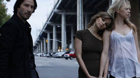 Watch: Keanu Reeves gets it on with two ladies in <i>Generation Um...</i>