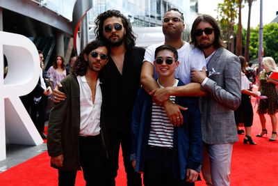 Gangs of Youthat the 2017 ARIA Awards