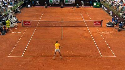 Fighting Rafael Nadal reclaims world No.1 after win over Alexander Zverev at Italian Open