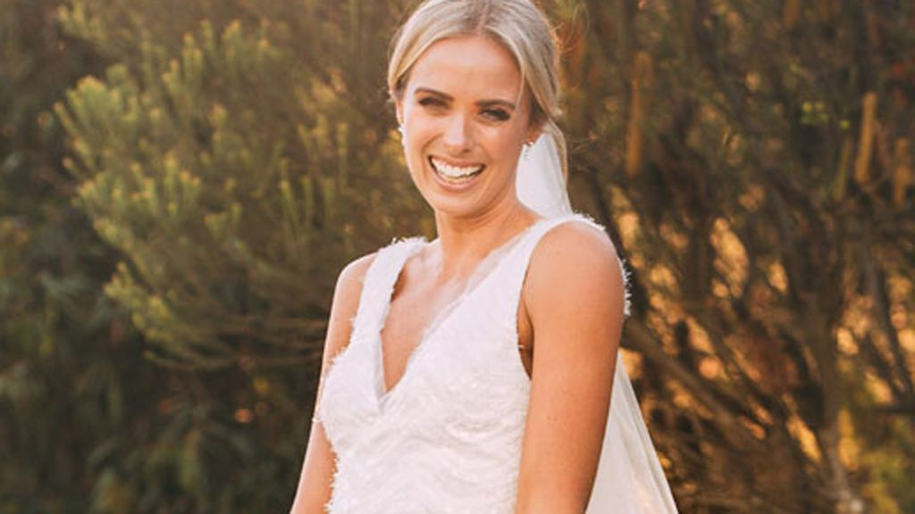 Sylvia Jeffreys wearing Rebecca Vallance.