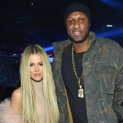 Khloe Kardashian, Lamar Odom, Kanye West concert