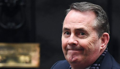 """International Trade Secretary Liam Fox, a prominent Brexit supporter, told the Sunday Times newspaper that the only way to be """"100% certain"""" Britain will leave the European Union is if ministers back the deal."""