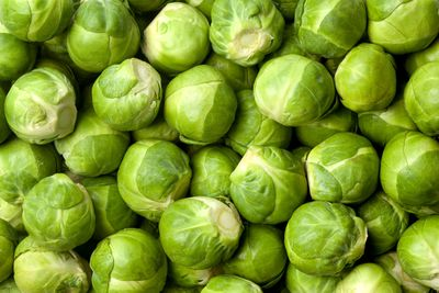 Brussels sprouts: 398mg potassium per 100g (5 sprouts)