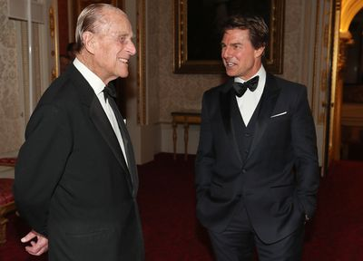 Tom Cruise and Prince Philip, 2017