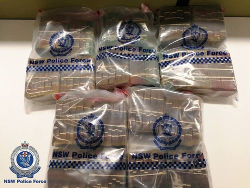 Detectives from the Organised Crime Squad's Money Laundering Unit were conducting inquiries into a possible 'cash run' between Sydney and Melbourne when they stopped a vehicle on Saturday, November 10, travelling northbound on the Hume Highway at Sutton Forest.