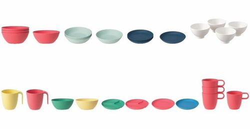 IKEA has urged customers to return its Heroisk and Talrika plates, bowls and mugs.