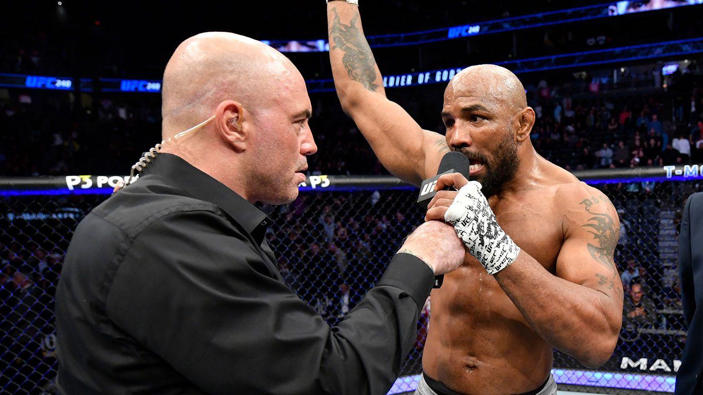 Yoel Romero blows up after losing to Israel Adesanya at UFC 248