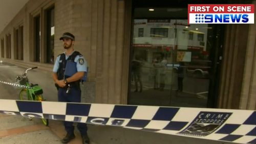 Sydney Marrickville Westpac Bank branch robbery