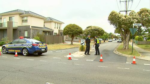 Police have shot a man in Mulgrave.