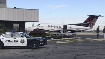 A 17-year-old girl was arrested after she allegedly broke into a plane at a California airport and crashed it into a fence.