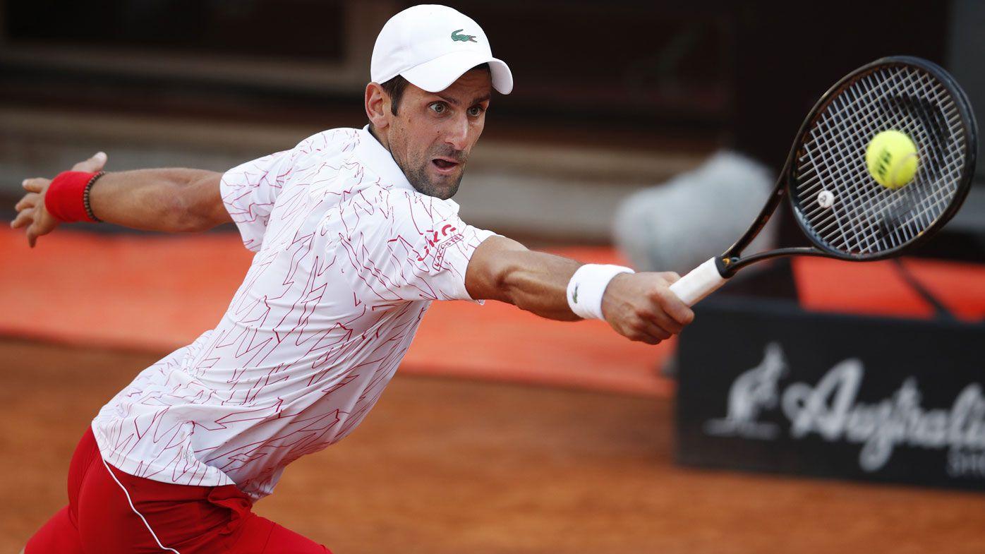 Novak Djokovic's poor behaviour continues with obscenity warning in Rome