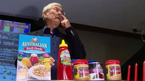 An emotional Dick Smith has lashed out at Aldi as he announced the end of Dick Smith Foods.