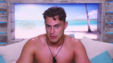 Curtis explains The Eagle on Love Island UK.