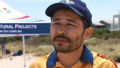 Refugee who nearly drowned is now saving lives on our beaches