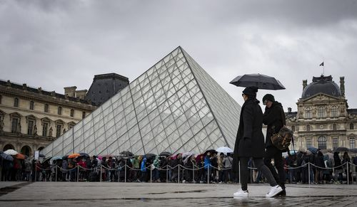 The Louvre museum in Paris is looking to buy the book back. (AAP)