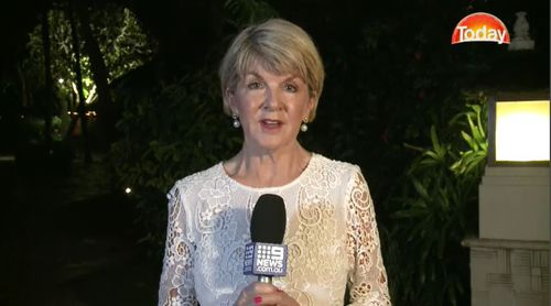 Ms Bishop said that Australian consular officials are still contacting travellers affected by the quake. Picture: 9NEWS.