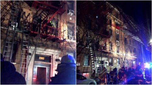 At least 12 people have died in the blaze. (FDNY)