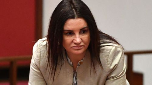 Senator Jacqui Lambie is awaiting urgent advice from the British Home Office regarding her potential dual citizenship