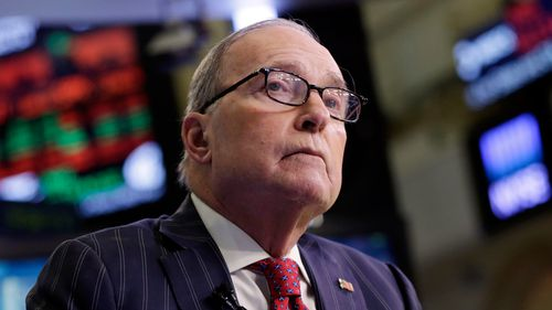 Larry Kudlow, a long-time fixture on the CNBC business news network, has served as a top economic adviser under the Trump administration. (AP)