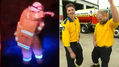 Dancing firefighter convinces Today hosts to bust a move