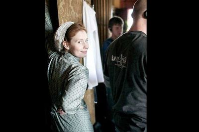 Amy Nuttall plays new housemaid Ethel in the second season.
