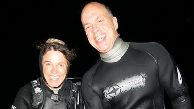 Gary Johnson was with his partner Karen Milligan when he was fatally attacked by a shark.