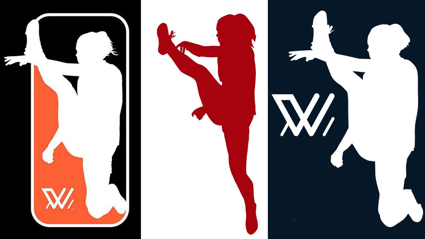 Clever AFLW logo rethink sparked by Tayla Harris' inspirational stand against trolls