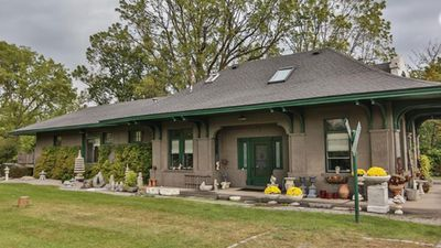 <strong>All aboard! Converted train station for sale</strong>