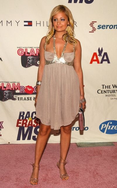 Nicole Richie at the 11th Annual Race To Erase MS Gala in Los Angeles, May, 2004