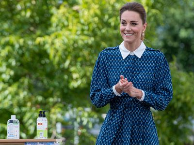 Kate Middleton visits UK hospital as lockdown relaxes, July 2020