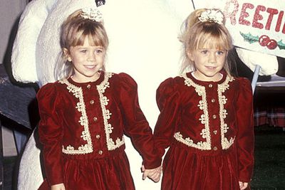 Remember when Mary-Kate and Ashley Olsen were young enough to believe in Santa Claus?