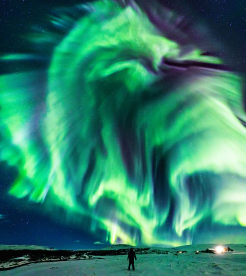NASA photography Northern Lights Astronomy