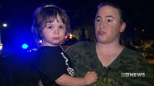 Mother Niki Baxter was in the living room of her Christie Downs home when she heard her son screaming. (9NEWS)