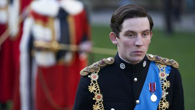 Josh O'Connor portrays Prince Charles and Erin Doherty portrays Princess Anne in The Crown Season 3 3