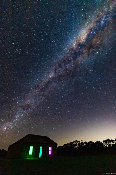 Photo of Mid Murray night sky