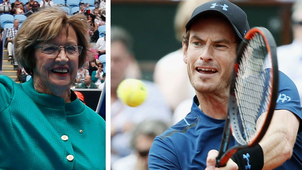 French Open: Andy Murray, Nick Kyrgios and Thanasi Kokkinakis speak out against Margaret Court