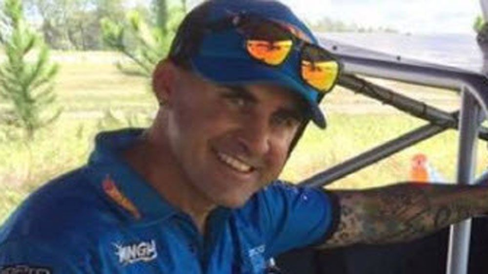 Truck racer Matt Mingay has facial surgery