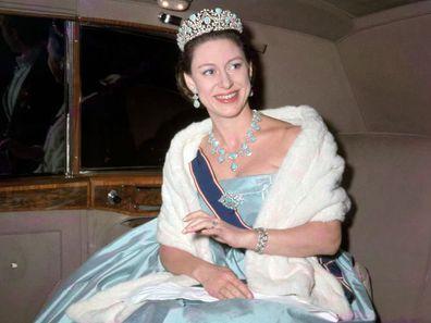 Persian Turquoise Tiara Princess Margaret