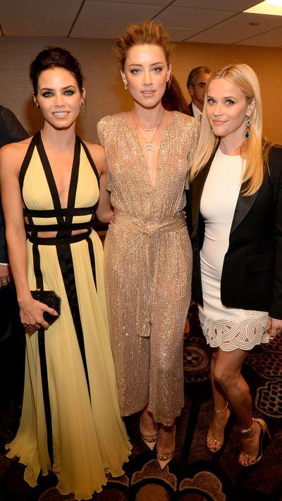 Jenna Dewan-Tatum, Amber Heard and Reese Witherspoon
