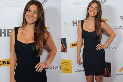 <i>Puberty Blues</i> star Charlotte Best wowed the crowd in bodycon.