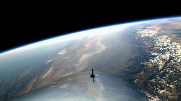 """The moment VSS Unity reached space."""