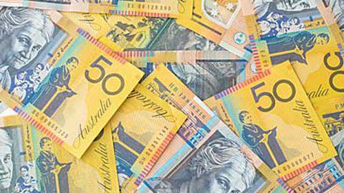 Australian $50 bills (Getty)